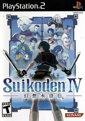 SONY Sony PlayStation 2 Game SUIKODEN IV