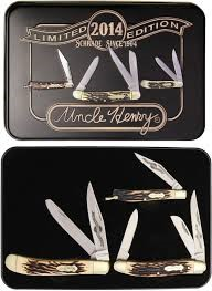 SCHRADE Pocket Knife UNCLE HENRY GIFT SET