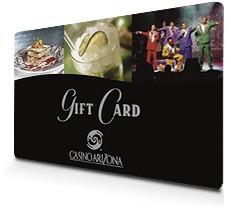 CASINO ARIZONA Gift Cards GIFT CARD