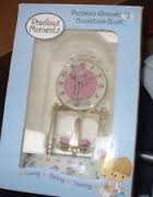 PRECIOUS MOMENTS Clock ANNIVERSARY CLOCK