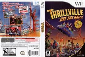 NINTENDO Nintendo Wii Game WII THRILLVILLE OFF THE RAILS