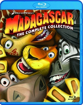 BLU-RAY MOVIE MADAGASCAR THE COMPLETE COLLECTION