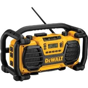 DEWALT WORKSITE RADIO CHARGER 18V 7.2V BOOMBOX DC012