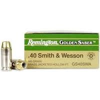 REMINGTON FIREARMS Ammunition GOLDEN SABER .40 S&W