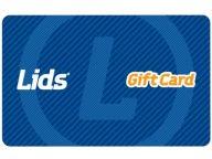 40.00 LIDS GIFT CARD