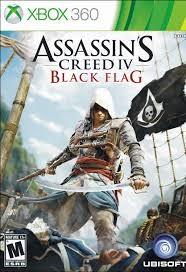 MICROSOFT Microsoft XBOX 360 Game ASSASSINS CREED IV BLACK FLAG - XBOX 360
