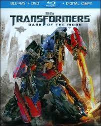 TRANSFORMERS Blu-Ray DARK OF THE MOON