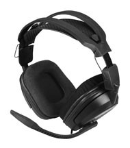 RED SAMURIA Video Game Accessory PLAYSTAION 3 HEAD SET