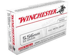 WINCHESTER Ammunition 5.56MM FMJ 55 GRAIN