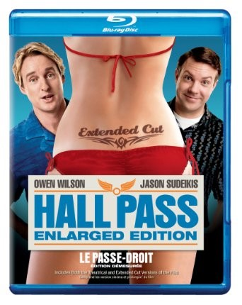 BLU-RAY MOVIE Blu-Ray HALL PASS ENLARGED ECITION