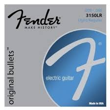 FENDER 3150LR ELECTRIC GUITAR STRINGS LIGHT/REGULAR