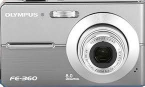 OLYMPUS Digital Camera FE-360