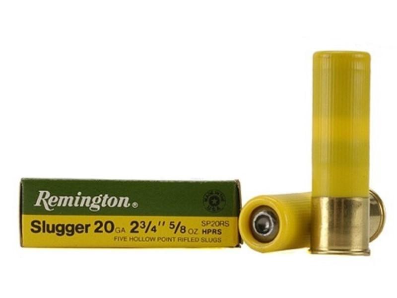 REMINGTON Ammunition SLUGGER 20 GA