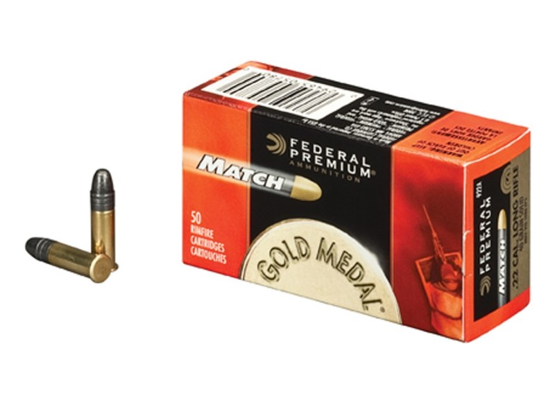 FEDERAL AMMUNITION Ammunition MATCH .22LR