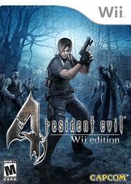 NINTENDO Nintendo Wii Game RESIDENT EVIL 4 WII