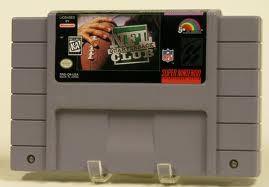 NINTENDO Nintendo SNES NFL QUARTERBACK CLUB