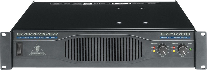 BEHRINGER PA System EUROPOWER EP4000