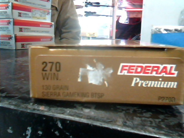 FEDERAL AMMUNITION Ammunition PREMIUM .270 WIN 130 GRAIN