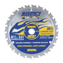 "IRWIN TOOLS Miscellaneous Tool 4935202 6.5"" MARATHON WELDTEC SAW BLADE"