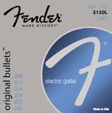 FENDER ORIGINAL BULLETS LIGHT ELECTRIC GUITAR STRINGS 3150L