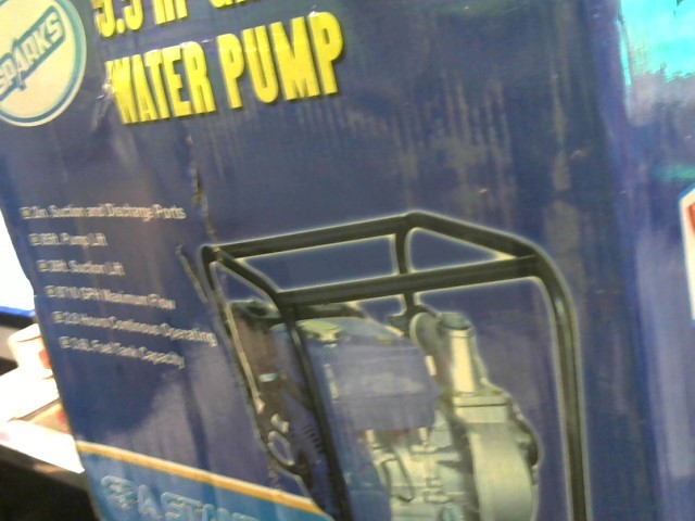 Prospecting Tool 5.5 HP GAS ENGINE WATER PUMP