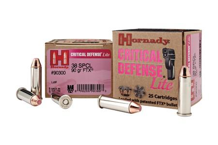 Hornady Critical Defense Lite FTX 9mm Luger 100-Grain Bullets