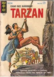 GOLD KEY Comic Book TARZAN COMIC BOOK ISSUE 137