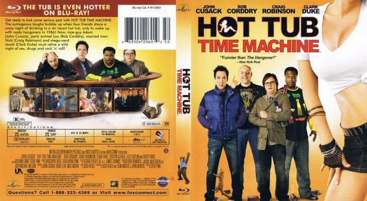 BLU-RAY MOVIE Blu-Ray HOT TUB TIME MACHINE