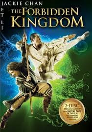 BLU-RAY MOVIE THE FORBIDDEN KINGDOM