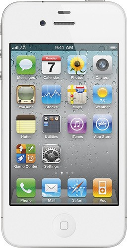 APPLE Cell Phone/Smart Phone IPHONE 4 MC677LL/A - 16GB