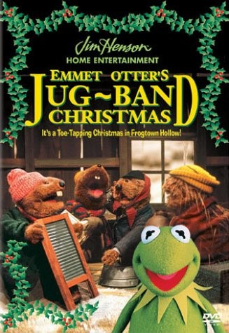 DVD MOVIE EMMET OTTERS JUG BAND CHRISTMAS