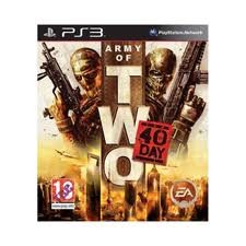 SONY Sony PlayStation 3 Game ARMY OF TWO 40TH DAY