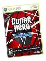 MICROSOFT XBOX 360 Game GUITAR HERO VAN HALEN