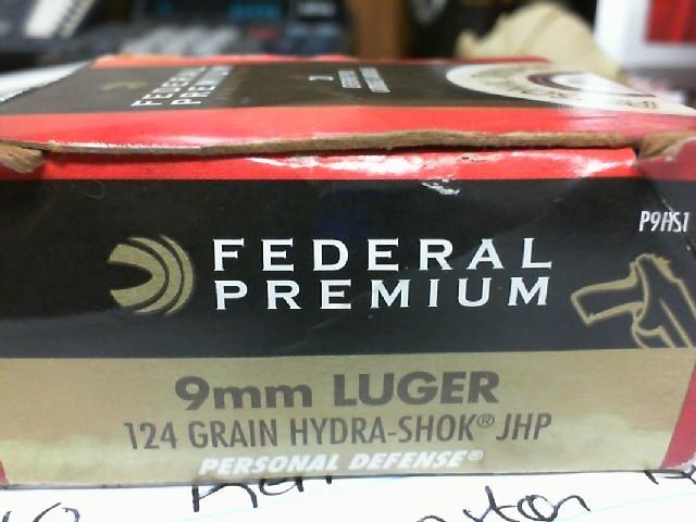 FEDERAL AMMUNITION Ammunition PREMIUM P9H51