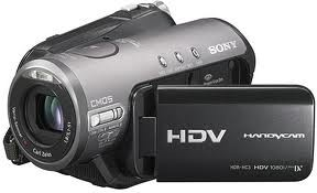 SONY COMCORDER Digital Camera HDR-HC3