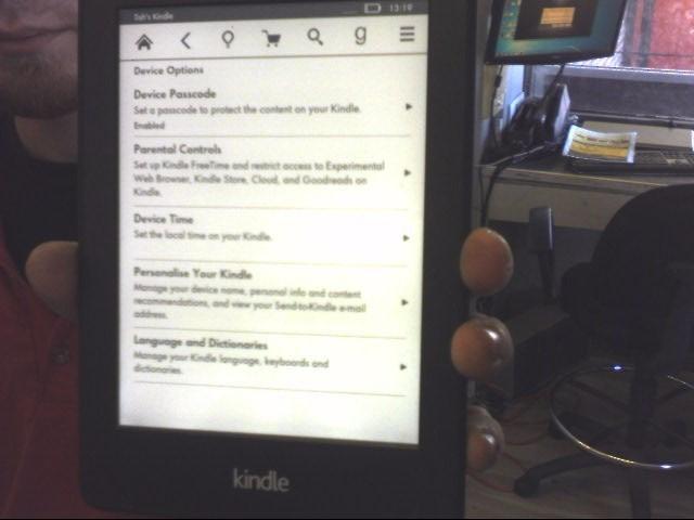 AMAZON Tablet KINDLE PAPERWHITE - DP75SDI