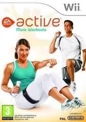 NINTENDO Nintendo Wii Game ACTIVE MORE WORKOUTS