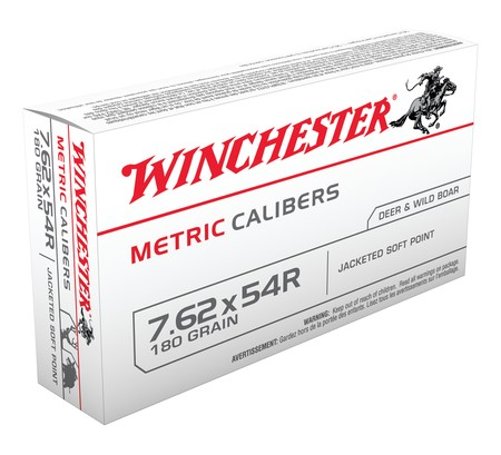 WINCHESTER Ammunition METRIC CALIBER 7.62X54R (MC54RSP)
