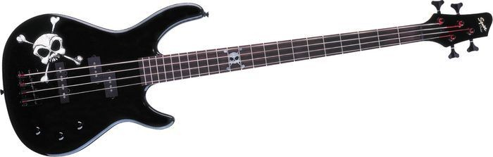 FENDER Bass Guitar SQUIER SKULL BASS-MB4