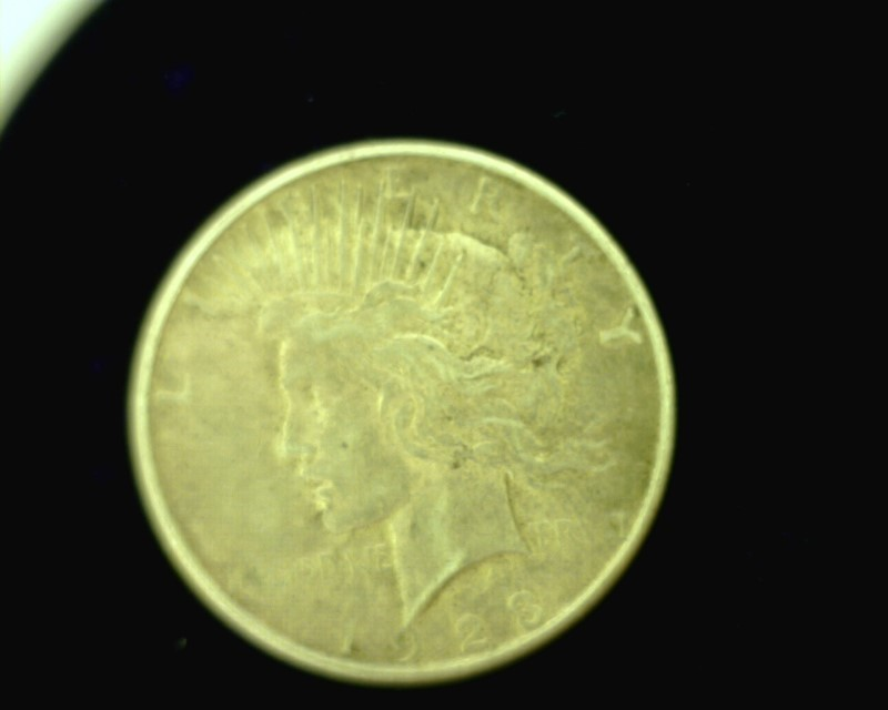 UNITED STATES Silver Coin 1923 LIBERTY DOLLAR