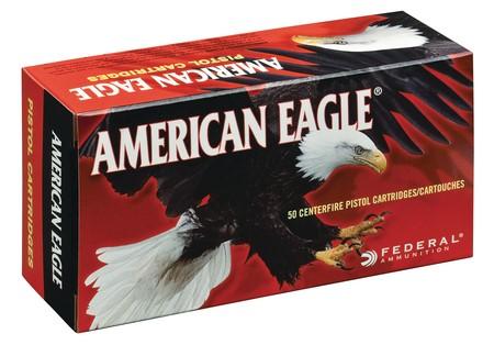 AMERICAN EAGLE Ammunition 9MM LUGER 147 GR FMJ (AE9FP)