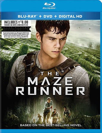 BLU-RAY MOVIE THE MAZE RUNNER