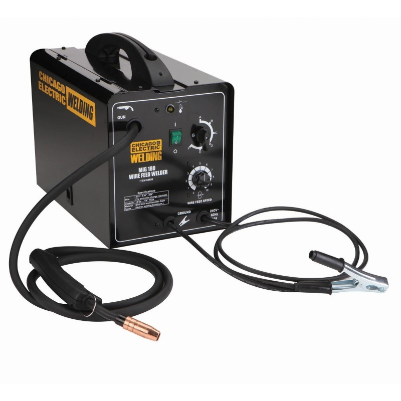 CHICAGO ELECTRIC Wire Feed Welder MIG 180