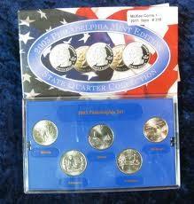 UNITED STATES Proof Set 2003 PHILADELPHIA STATE QUARTER