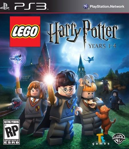 SONY Sony PlayStation 3 Game LEGO HARRY POTTER YEARS 1-4