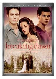 DVD MOVIE DVD TWILIGHT SAGA BREAKING DAWN PART 1