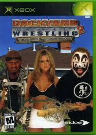 MICROSOFT Microsoft XBOX Game BACKYARD WRESTLING 2