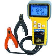 CEN-TECH Battery Tester 66892 BATTERY ANALYZER