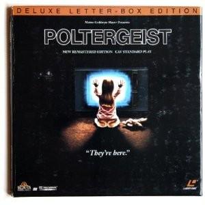 LASER DISC Laser Disk POLTERGEIST