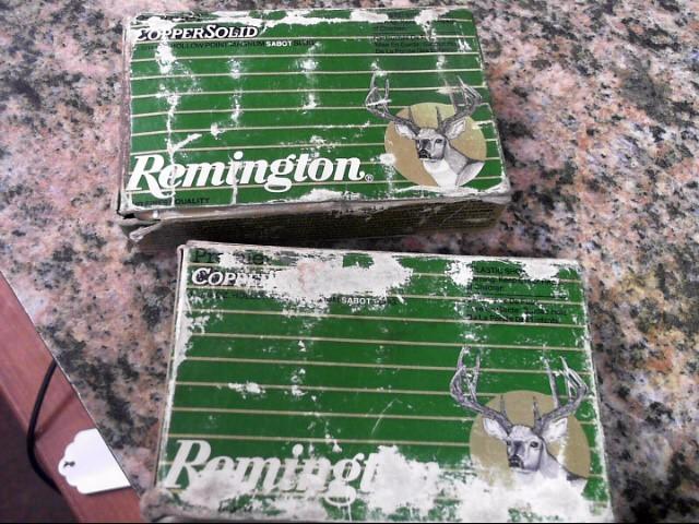 REMINGTON FIREARMS Ammunition COPPER SOLID